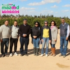 The United Nations organization has visited our farm in Minya.